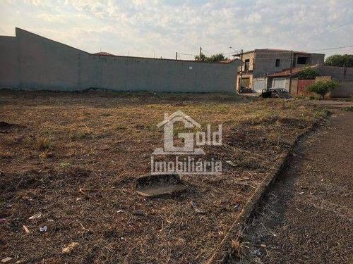 Imagem 1 de 1 de Terreno À Venda, 358 M² Por R$ 170.000,00 - Jardim Professor Antônio Palocci - Ribeirão Preto/sp - Te0620