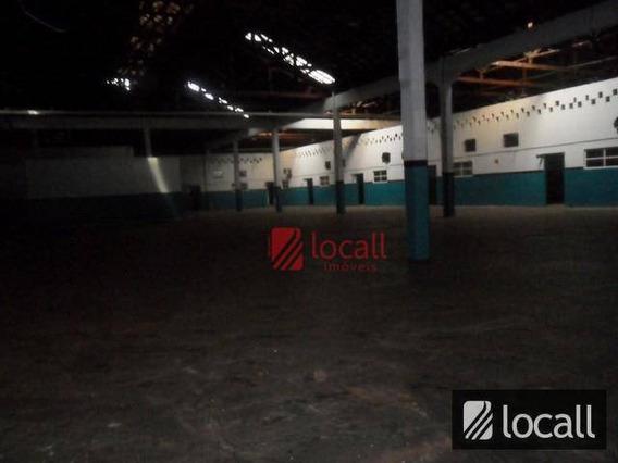 Barracão Comercial Para Locação, Parque Industrial, São José Do Rio Preto. - Ba0030