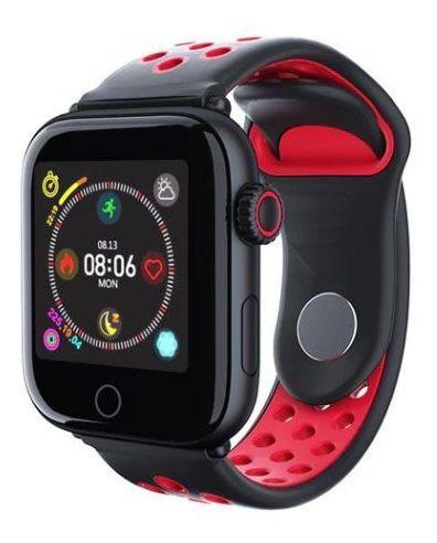 Smartwatch Lenfo Lem 10 Unissex Vermelho