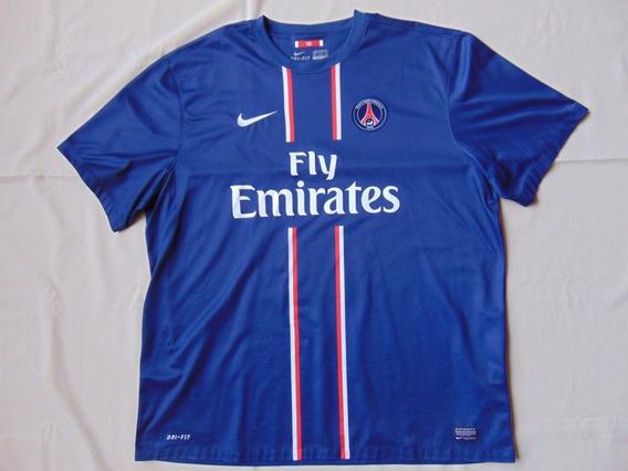 Camisa Camiseta Psg Nike Fly Emirates Futebol Antiga