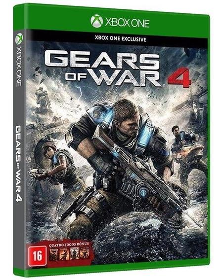 Gears Of War 4 [ Coleção 1,2,3 E 4 ] - Xbox One [ Novo ]