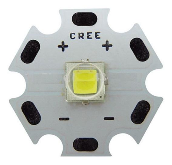 Led Cree Xml2 T6 U2 10w Branco Base 20mm