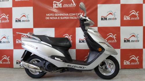 Suzuki Burgman 125i 2013 Prata