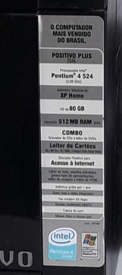 Cpu + Estabilizador + Teclado (venda Paulínia E Região)