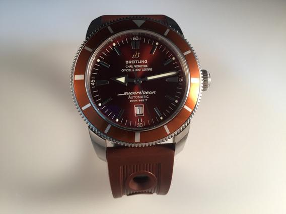 Reloj Breitling Superocean Heritage 46mm Mens De Acero