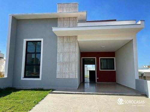 Imagem 1 de 20 de Casa À Venda, 98 M² Por R$ 425.000,00 - Condomínio Santinon - Sorocaba/sp - Ca1878