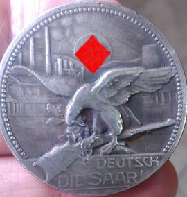 Medalha Alemanha Nazista Saar 3º Reich