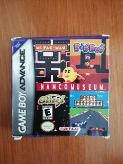 Namco Museum Para Game Boy Advance Incluye Caja Original