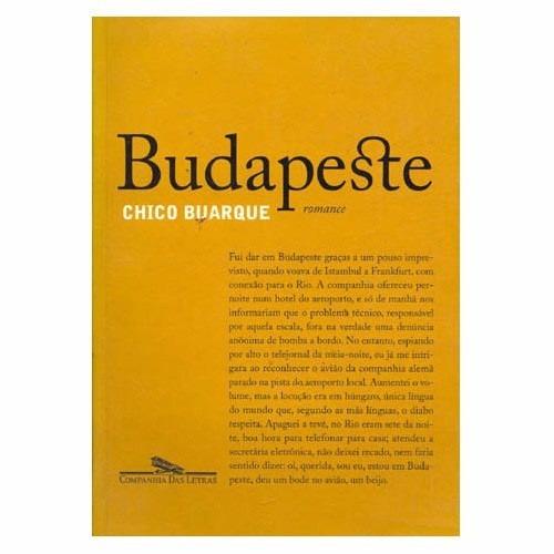 Livro Budapeste, Seminovo (muito Novo!)