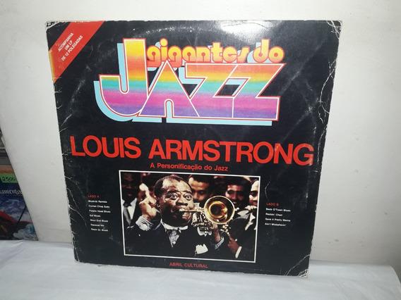 Lp Louis Armstrong Gigante Do Jazz 1980 Ne