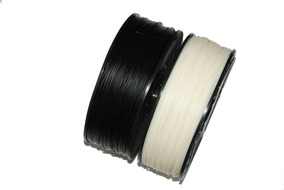 Filamento Abs Premium 1.75mm 2 Kg Branco Preto Imp 3d