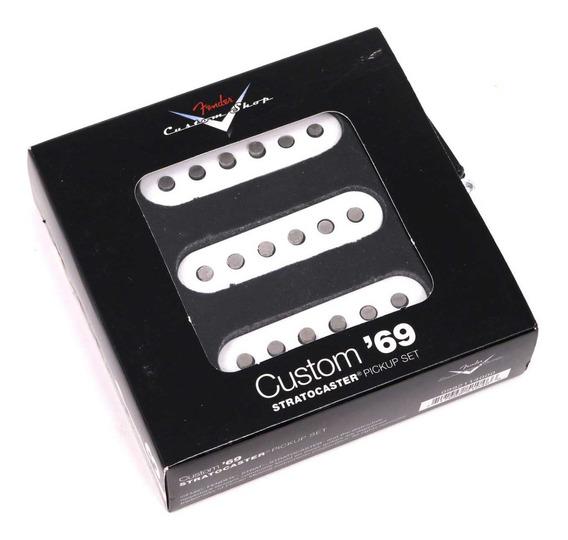 Set De 3 Microfono Pickup Fender Original Stratocaster Custom