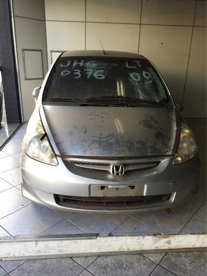 Honda Fit Para Vendas De Pecas, Motores, Cambios, Latas Comp