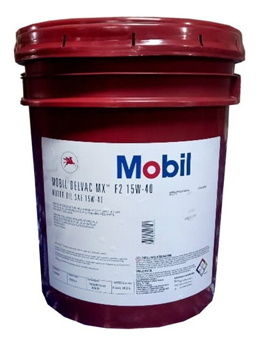 Aceite Mineral Mobil Maxidiesel Sae 15w40 Paila