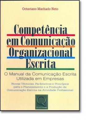 Livro Competência Em Comunicação Organizacional Escrita
