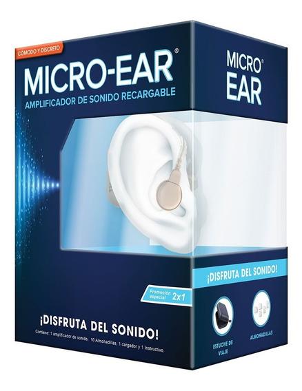 2 X 1 Amplificadores De Sonido Micro Ear