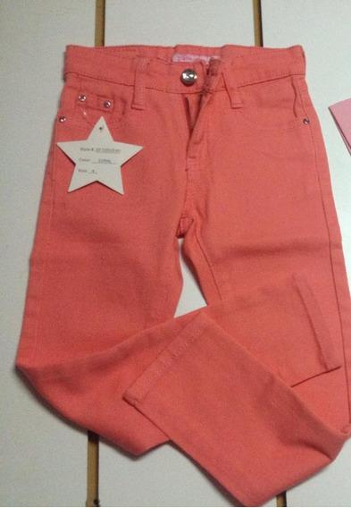 Jeans Pantalon Ropa De Niña Nuevo Talla 4