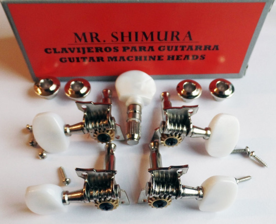 Clavijero Banjo Mr. Shimura 428n 5 Cuerdas Clavijas Leomusic