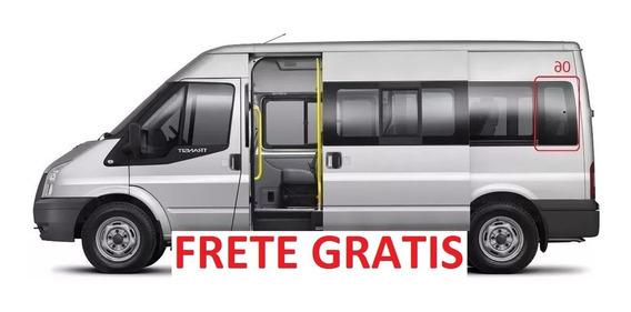 Ford Transit Vidro Janela Movel Lateral Lado Esquerdo N°05