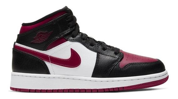 Air Jordan 1 Mid Nike Moda 3 4 5 6 7 11 12 Casual Hombres