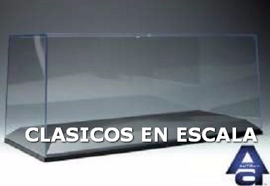 Caja Acrilica Primera Calidad + Base - Top Line Autoart 1/18