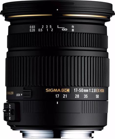 Lente Sigma 17-50mm F2.8 Dc Os Hsm Nikon Nf-e