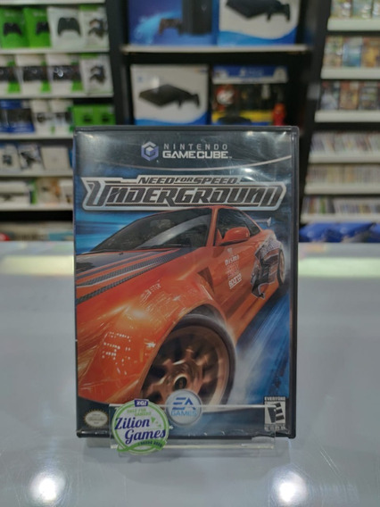 Need For Speed Underground Game Cube -completo