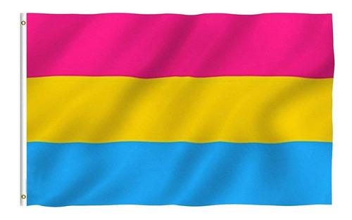 Bandeira Lgbt Pan 150x90 Cm Alta Qualidade