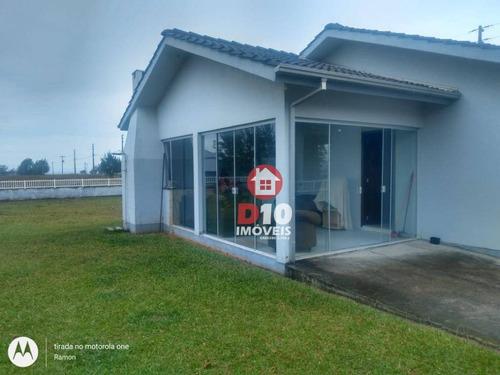 Casa Com 3 Dormitórios À Venda, 120 M² Por R$ 425.000,00 - Paiquerê - Araranguá/sc - Ca2166