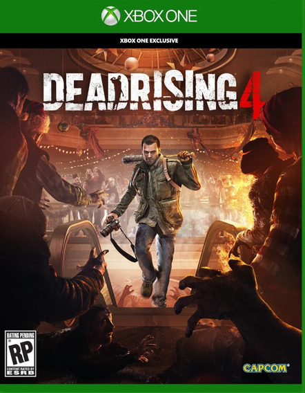 Dead Rising 4 Mídia Física Xbox One Dublado Em Português Br