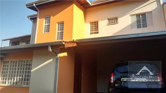 Sobrado Com 2 Dormitórios À Venda, 125 M² Por R$ 310.000,00 - Jardim Europa - Sorocaba/sp - So0064