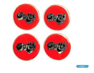 4 Stickers Para Center Caps Centros De Rin Gotti 60 Mm