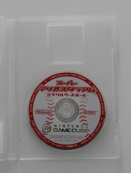 Super Mario Stadium Miracle Baseball Para Game Cube Japonês