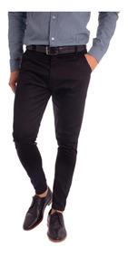 Set/pack X 2 -pantalon Hombre Vestir Corte Chino Moda 2019