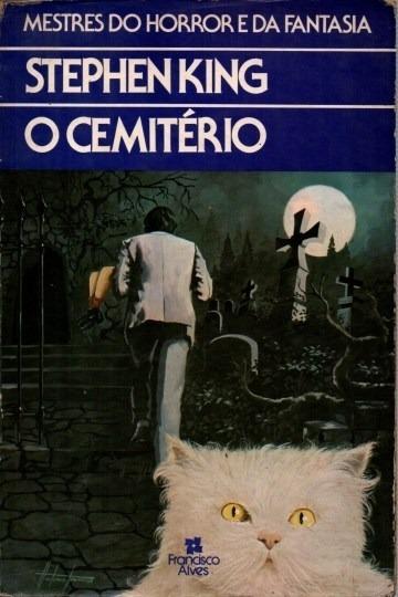 Livro O Cemitério Stephen King Edição Francisco Alves
