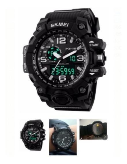 Relógio S-shock Militar Analógico Digital Prova D