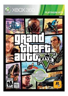 Grand Theft Auto V Xbox 360 Nuevo Sellado