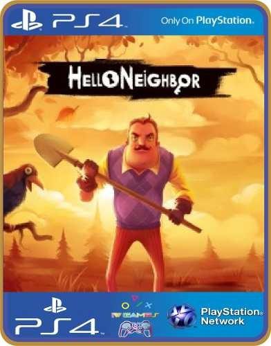 Hello Neighbor   Ps4 Psn Original 1 Mídia Digital
