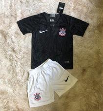 Kit Infantil Do Corinthians 18 - Produto Oficial 2 Á 13 Anos bb2a3983959