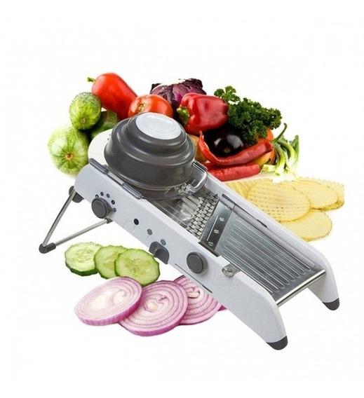 Cortador De Legumes Mandoline Em Inox Multifuncional Slicer