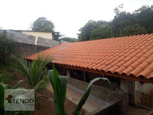 Imagem 1 de 14 de Imob03 - Chácara 1200 M² - Venda - 3 Dormitórios - 1 Suíte - Jardim Chácara Méa - Suzano/sp - Ch0119