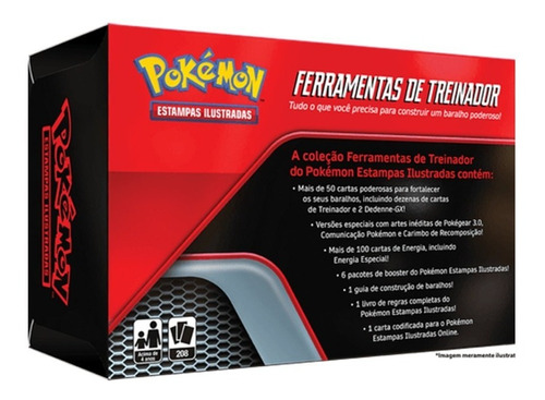 Pokémon Toolkit Ferramentas De Treinador Toolkit 208 Cartas