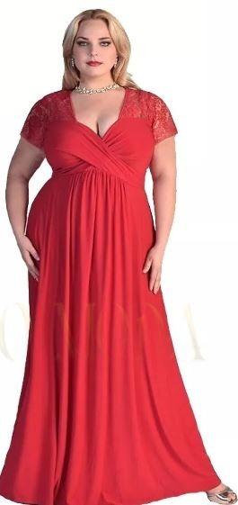 Vestidos De Fiesta Talles Especiales Seda Fria 4xl Art130