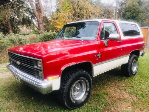 Imagen 1 de 15 de Chevrolet Blazer Silverado