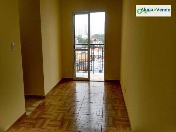 Apartamento Com 3 Dormitórios À Venda, 62 M² Por R$ 340.000 - Centro - Guarulhos/sp - Ap0035
