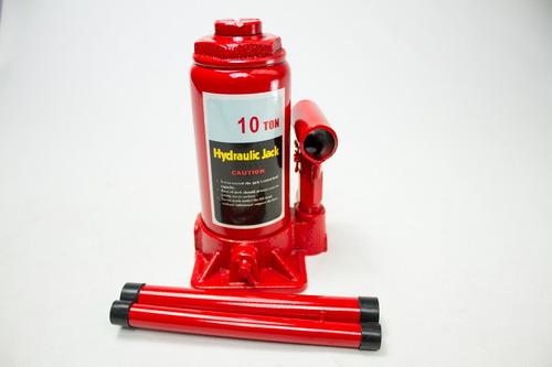 Crique Hidraulico Auto 4x4 Botella 10 Toneladas Reforzado