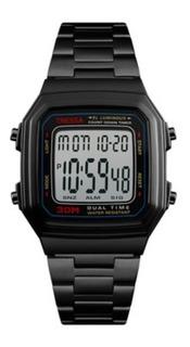 Reloj Tressa Vintage Negro Digital Modelo Spritz