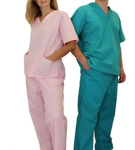 Chaqueta Escote V Ambo Unisex - Hospital - Talles Colores