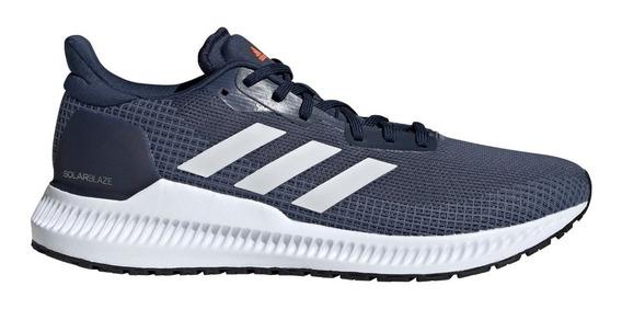 Zapatillas adidas De Hombre Solar Blaze Running Azu