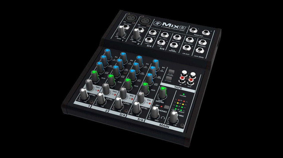 Mixer Digital Sem Fio Mix8 Mackie
